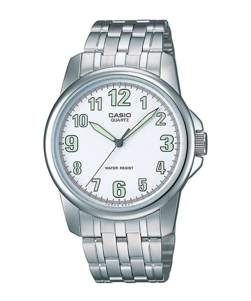 Casio MTP-1216A-7BDF Silver Stainless Steel Strap Watch for Men