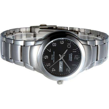 Casio MTP-1229D-1A Silver Stainless Steel Strap Watch for Men