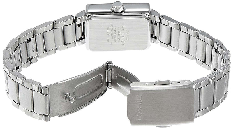 Casio MTP-1233D-1ADF Silver Stainless Steel Strap Watch for Men