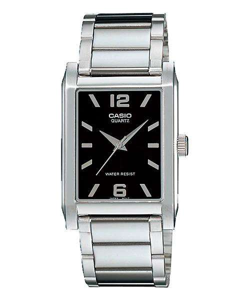 Casio MTP-1235D-1ADF Silver Stainless Steel Strap Watch for Men