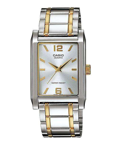 Casio MTP-1235SG-7ADF Two Tone Stainless Steel Strap Watch for Men
