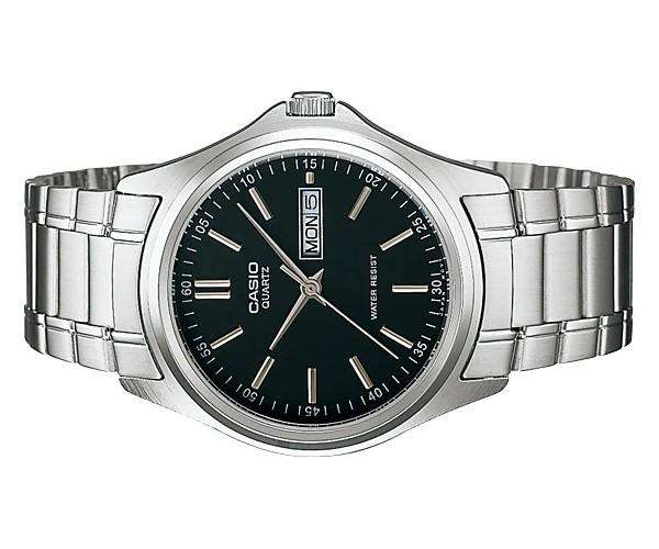Casio MTP-1239D-1ADF Silver Stainless Steel Strap Watch for Men