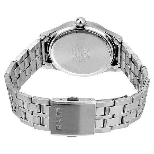 Casio MTP-1243D-7AVDF Silver Stainless Steel Strap Watch for Men