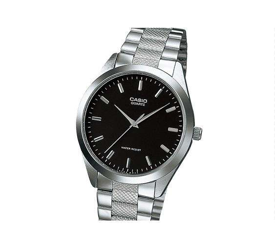 Casio MTP-1274D-1ADF Silver Stainless Steel Strap Watch for Men