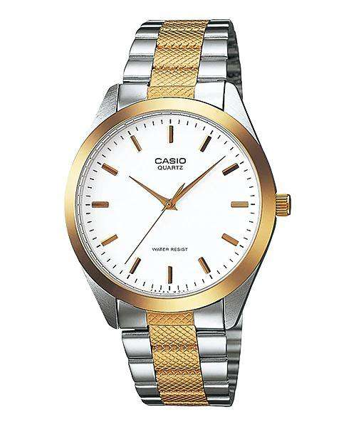 Casio MTP-1274SG-7ADF Two Tone Stainless Steel Strap Watch for Men