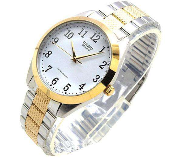 Casio MTP-1274SG-7BDF Two Tone Stainless Steel Strap Watch for Men