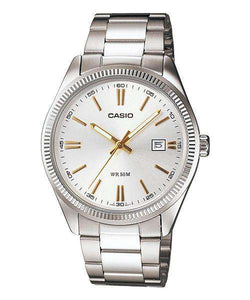 Casio MTP-1302D-7A2VDF Silver Stainless Steel Strap Watch for Men