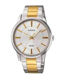 Casio MTP-1303SG-7AVDF Two Tone Stainless Steel Strap Watch for Men