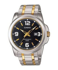 Casio MTP-1314SG-1AVDF Two Tone Stainless Steel Strap Watch for Men