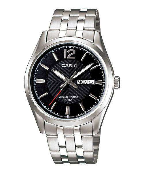 Casio MTP-1335D-1AVDF Silver Stainless Watch for Men