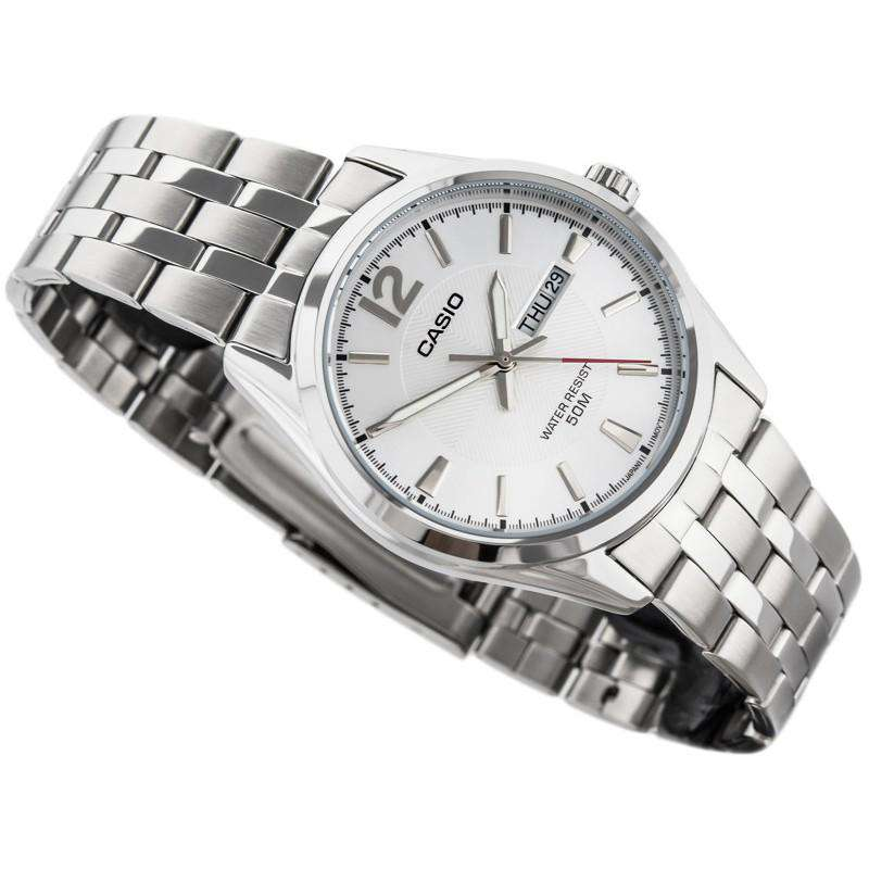 Casio MTP-1335D-7AVDF Silver Stainless Watch for Men