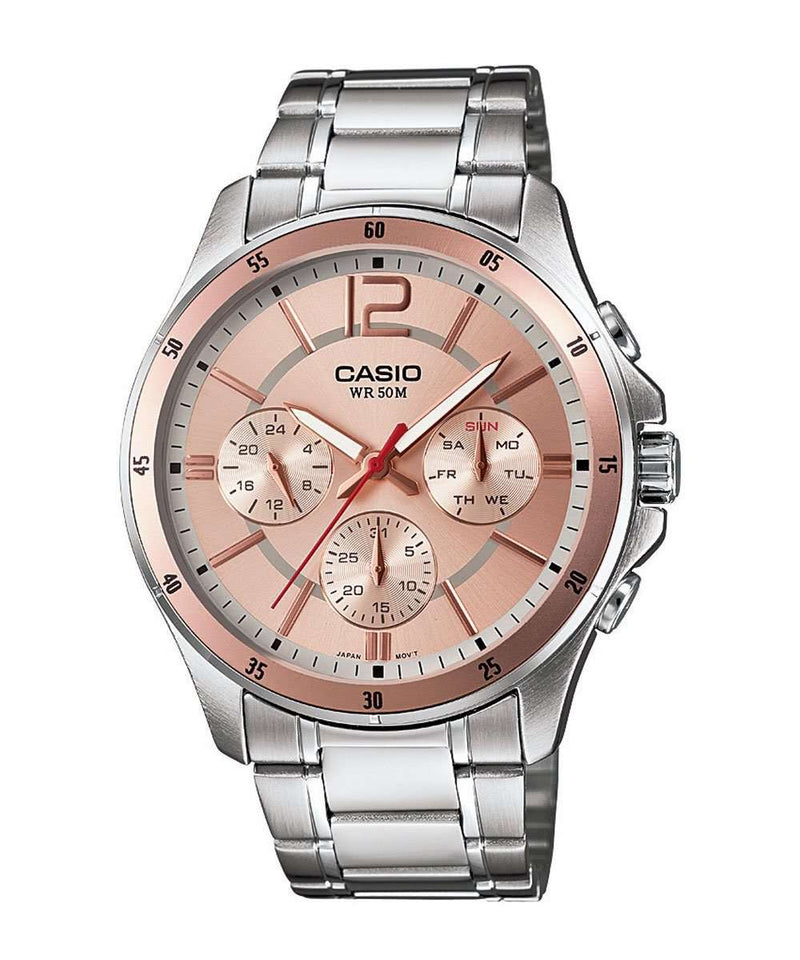 Casio MTP-1374D-9AVDF Silver Stainless Watch for Men
