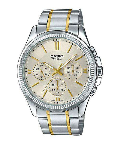 Casio Vintage LA680WGA-1D Gold Plated Watch For Women