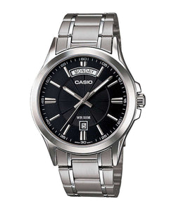 Casio MTP-1381D-1AVDF Silver Stainless Watch for Men