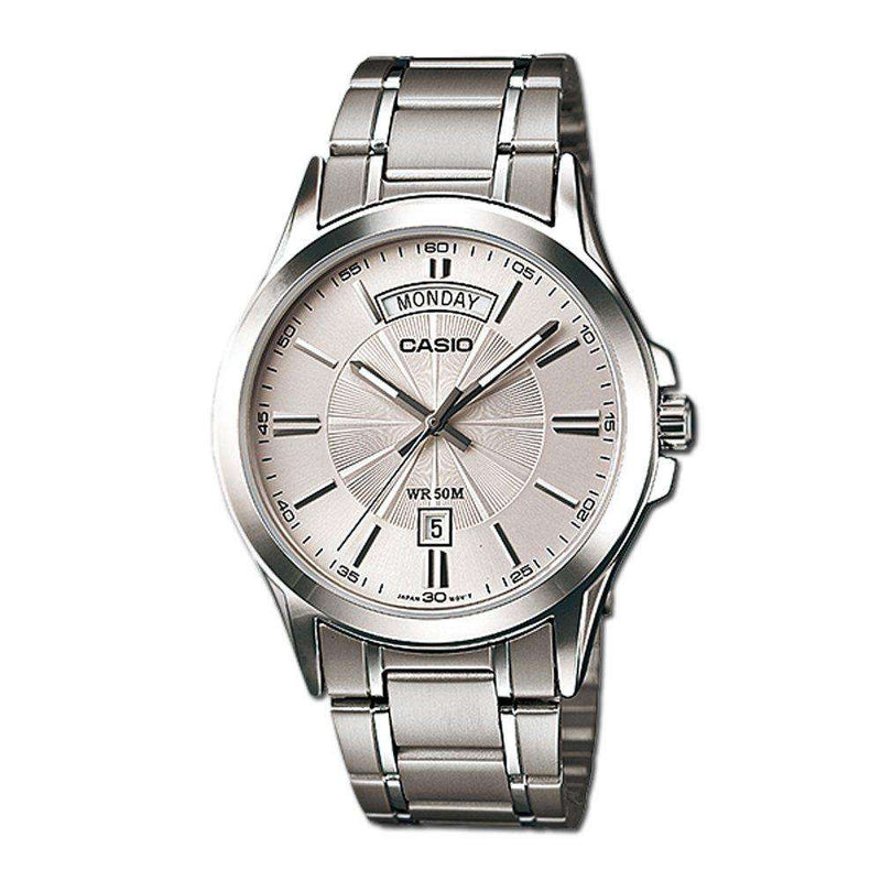 Casio MTP-1381D-7AVDF Silver Stainless Watch for Men