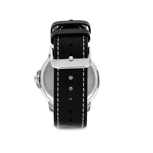 Casio MTP-E130L-2A1VDF Black Leather Strap Watch for Men