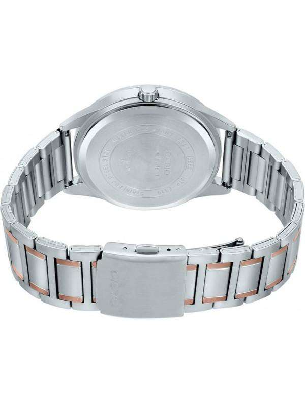 Casio MTP-E319RG-1BVDF Two Tone Silver Stainless Watch for Men