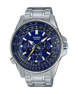 Casio MTP-SW320D-2AVDF Silver Stainless Watch for Men