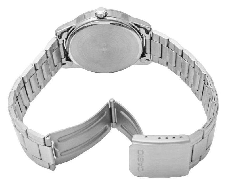 Casio MTP-V001D-1B Silver Stainless Watch for Men