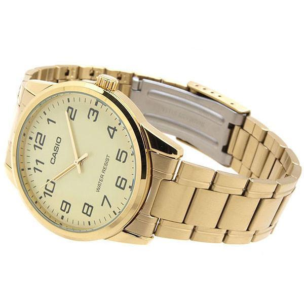 Casio MTP-V001G-9B Gold Plated Watch for Men - Watchportal Philippines