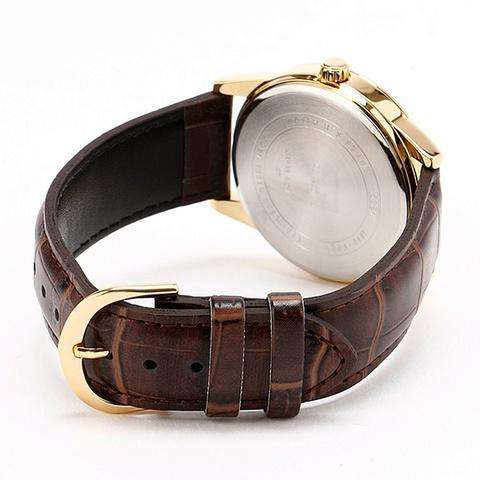 Casio MTP-V001GL-9B Brown Leather Watch for Men