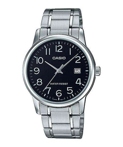 Casio MTP-V002D-1B Silver Stainless Watch for Men