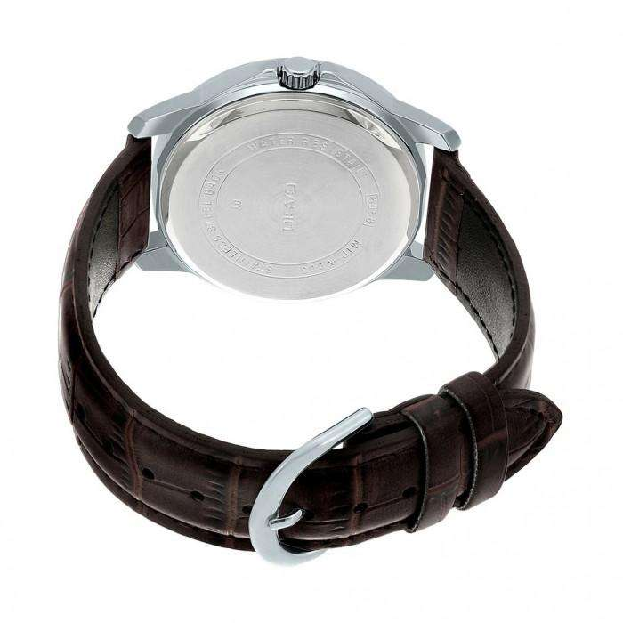 Casio MTP-V002L-7B2 Brown Leather Watch for Men