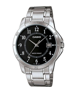Casio MTP-V004D-1B Silver Stainless Watch for Men