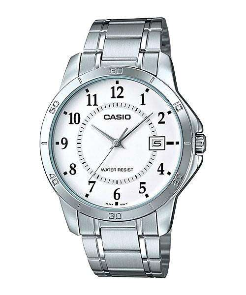 Casio MTP-V004D-7B Silver Stainless Watch for Men