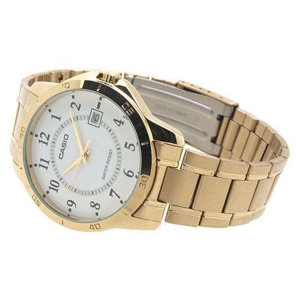 Casio MTP-V004G-7B Gold Stainless Watch for Men