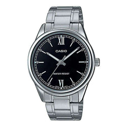 Casio MTP-V005D-1B2 Silver Stainless Watch for Men