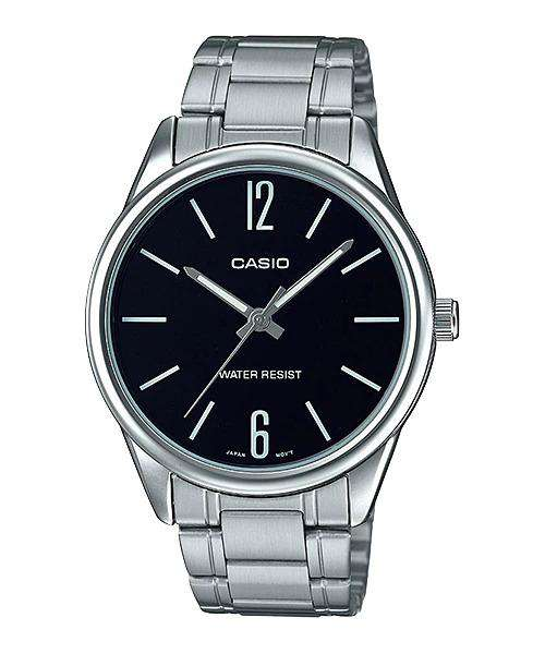 Casio MTP-V005D-1B Silver Stainless Watch for Men