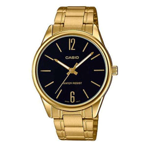 Casio MTP-V005G-1B Gold Stainless Watch for Men
