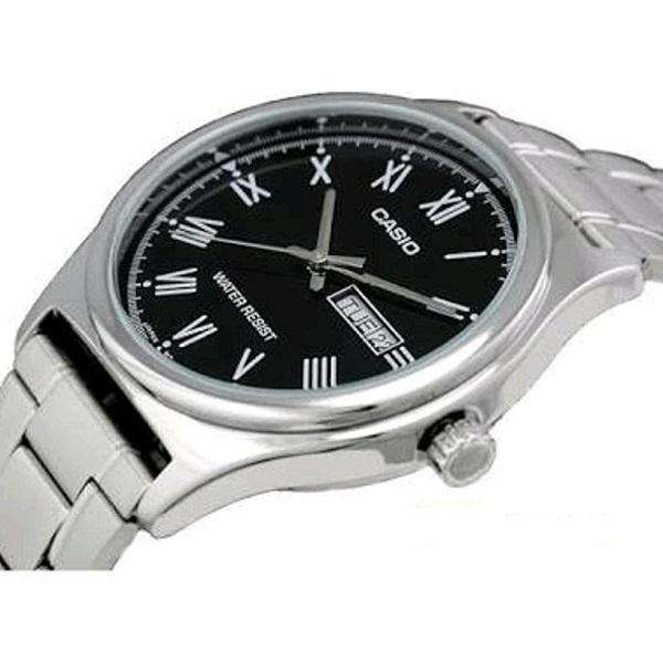 Casio MTP-V006D-1B Silver Stainless Watch for Men