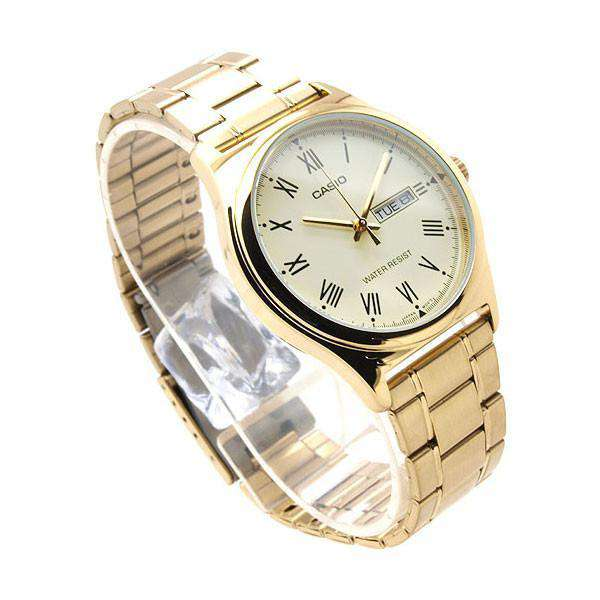 Casio MTP-V006G-9B Gold Stainless Watch for Men