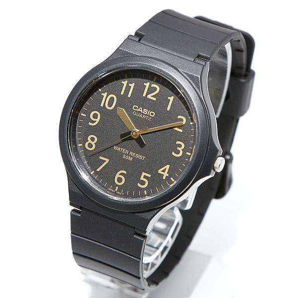 Casio Standard MW-240-1B2VDF Black Resin Strap Unisex  Watch