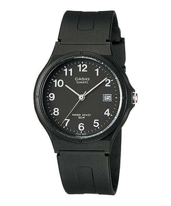 Casio MW-59-1BVDF Black Resin Strap Watch for Men