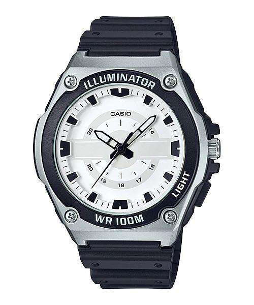 Casio MWC-100H-7AVDF Blue Resin Strap Watch for Men