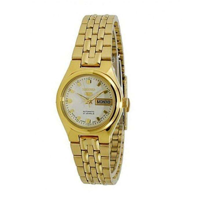 SEIKO SYMK46K1 Automatic Gold Stainless Steel Watch for Women