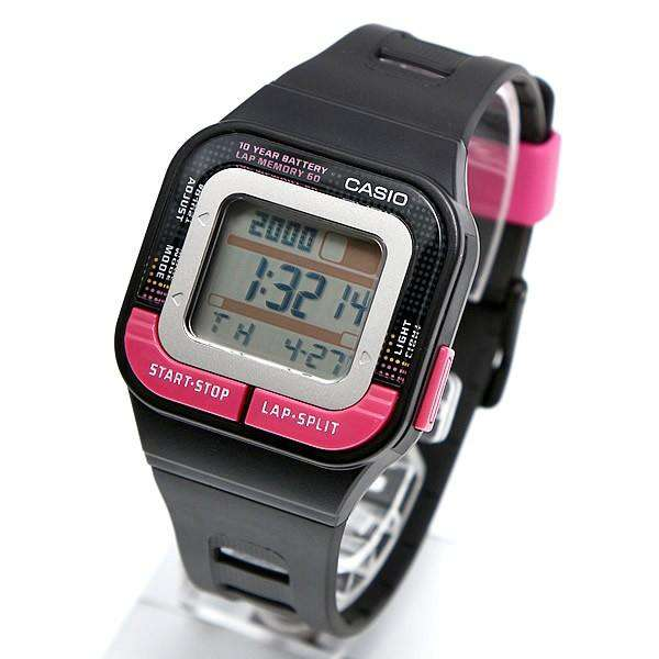 Casio SDB-100-1BDF Digital Black Resin Strap for Men & Women