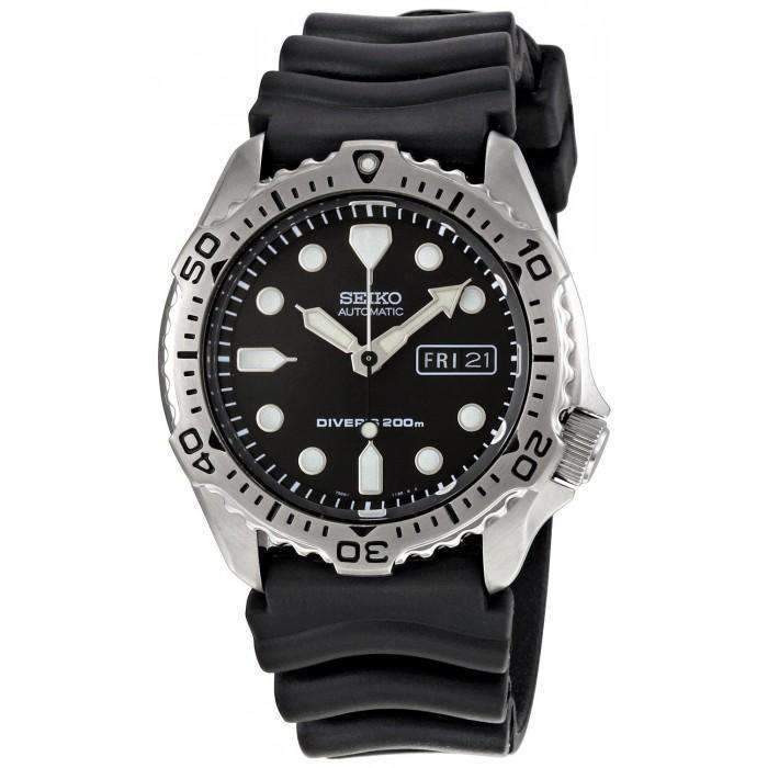 SEIKO SKX171K Automatic Scuba Diver Black Rubber Watch for Men - Watchportal Philippines