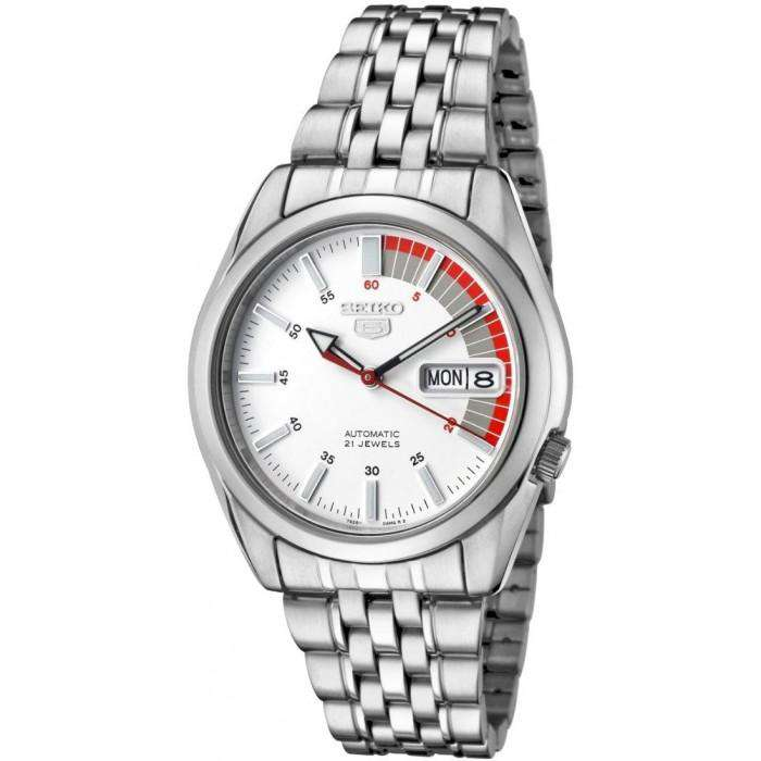 SEIKO SNK369K1 Automatic Silver Stainless Steel Watch for Men