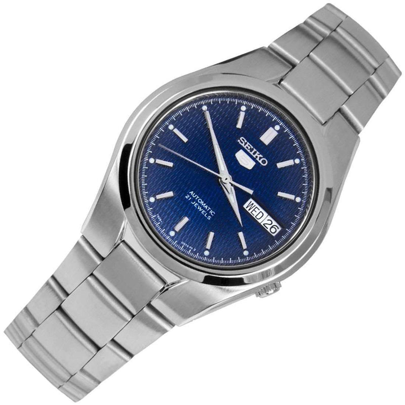 SEIKO SNK603K1 Automatic Blue Dial Silver Stainless Steel Watch for Men