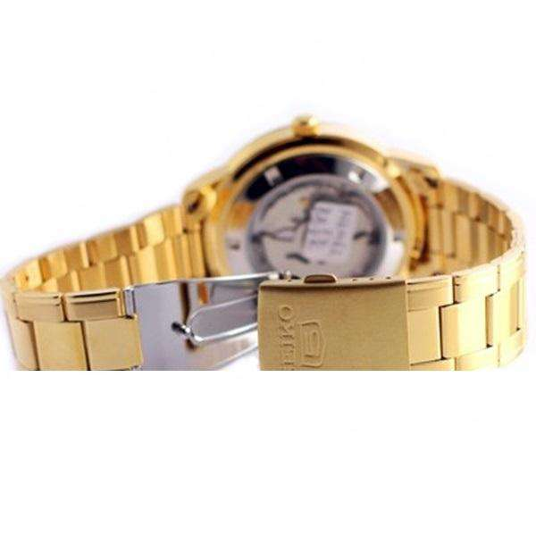 SEIKO SNK888K1 Automatic Gold Plated Watch for Men-