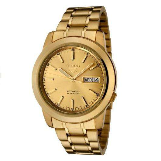 SEIKO SNKE56K1 Automatic Gold Stainless Steel Watch for Men