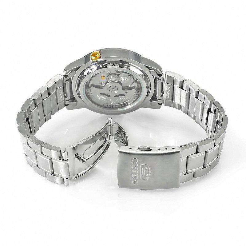 SEIKO SNKK07K1 Automatic Silver Stainless Watch for Men-