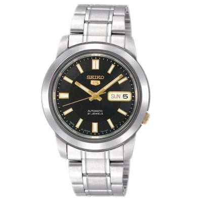 SEIKO SNKK17K1 Automatic Silver Stainless Steel Watch for Men