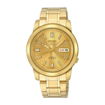 SEIKO SNKK20K1 Automatic Gold Plated Stainless Steel Watch for Men- - Watchportal Philippines