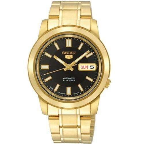SEIKO SNKK22K1 Automatic Gold Stainless Steel Watch For Men