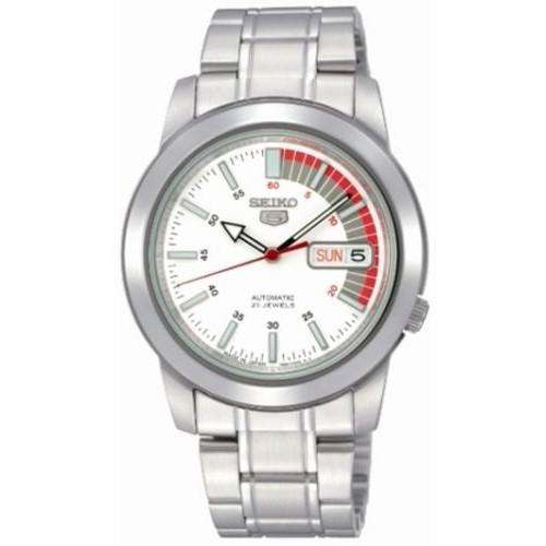 SEIKO SNKK25K1 Automatic Silver Stainless Watch for Men-